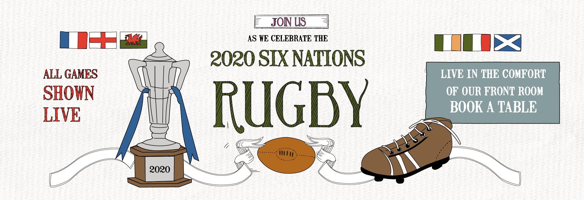Six Nations at The Old White Lion