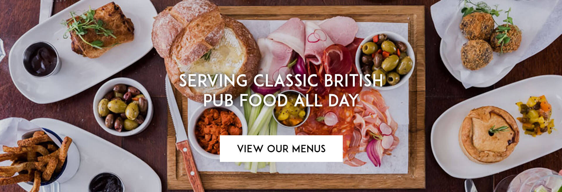 View our Menu at The Old White Lion