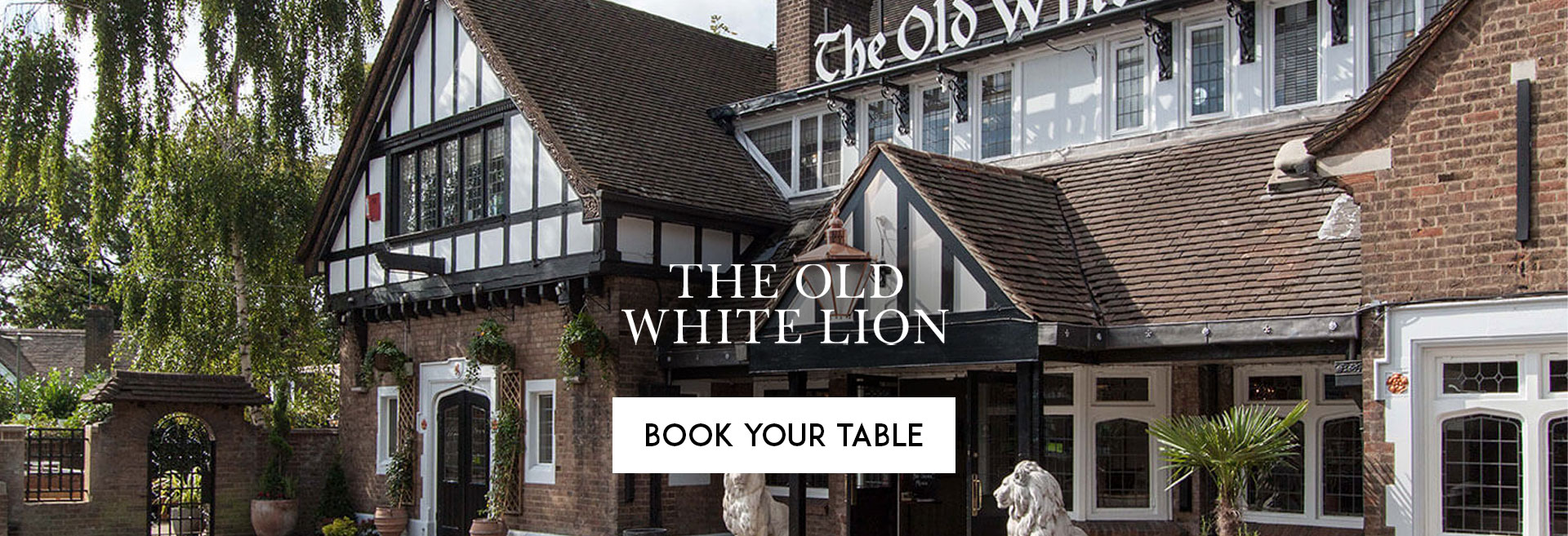 Book Your Table at The Old White Lion